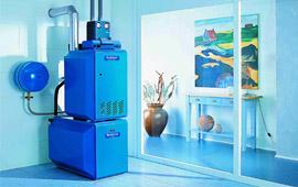 Отопление частного дома - выбор газового котла для дома
