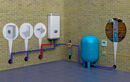 Самоуправляемая система подача воды